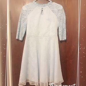 Dresses & Skirts - Babe blue Asian style cute dress medium sleeves